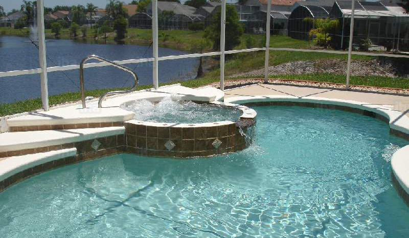 This is an image of a clean pool - Clayton swimming pool service